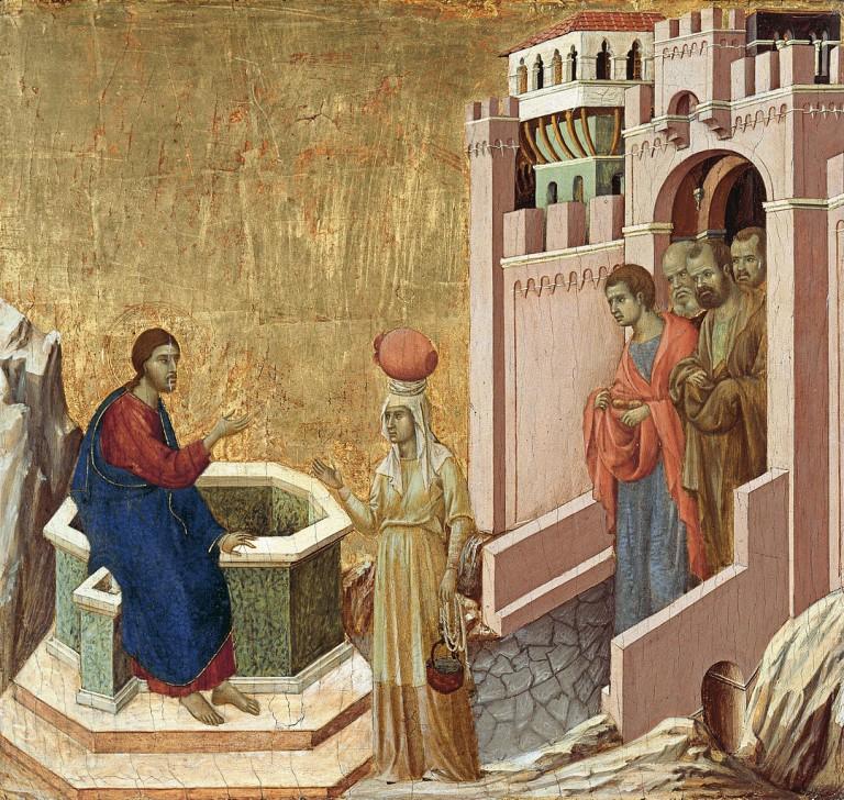 1080px-Duccio_di_Buoninsegna_-_Christ_and_the_Samaritan_Woman_-_Google_Art_Project-768x728